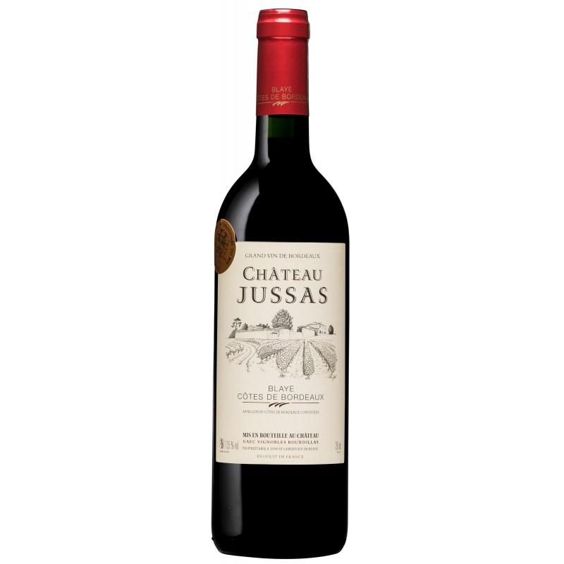 Château Jussas rouge 2010
