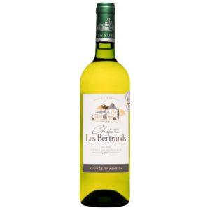 Château Les Bertrands blanc 2019
