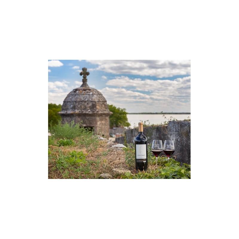 Clos de l'Echauguette 2018 en coffret bois - Vignoble de la Citadelle de Blaye